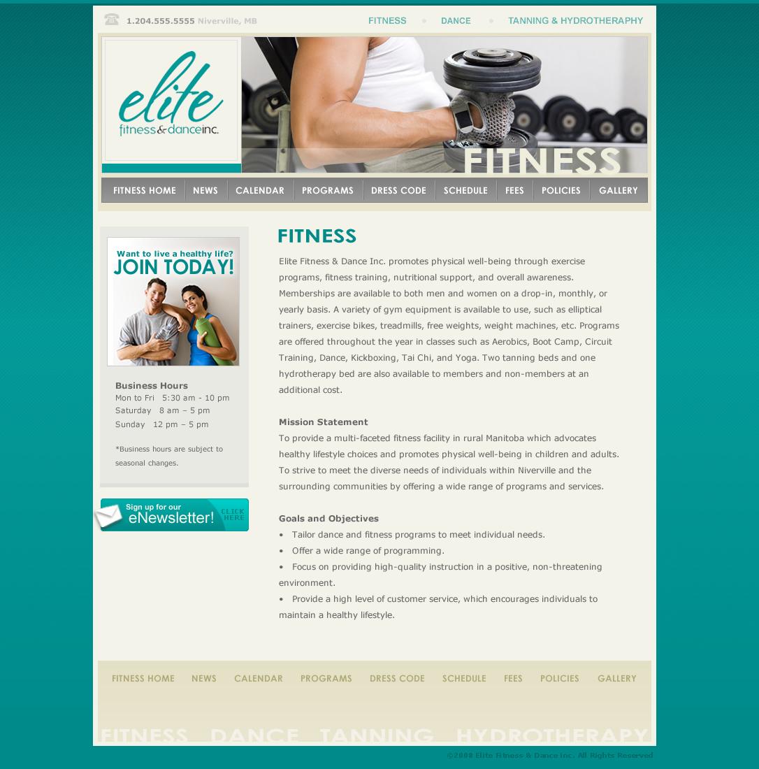 Elite designs winnipeg website designers for Design reference sites